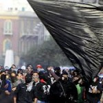 道ばたのエジプト/タハリール蜂起第3年